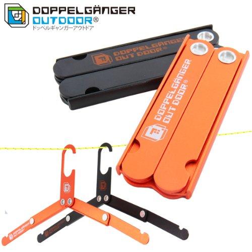 Doppelganger Travel Outdoor Folding Portable Ultra Compact Aluminum Durable Hanger Fh1-160 (Black) by Doppelganger (Image #3)