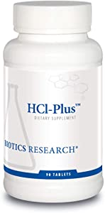 HCl-Plus™ from Biotics Research, Supplies Betaine Hydrochloride, Pepsin, Glutamic Acid and More. Supports Healthy Digestion.