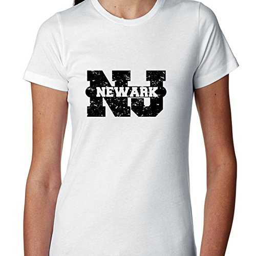 Newark, New Jersey NJ Classic City State Sign Women's Cotton -