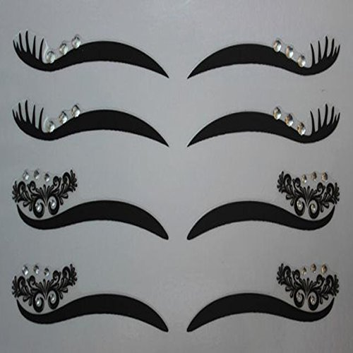 spritechtm-4-pairs-black-eyeliner-double-eyelid-sticker-eye-tapes-makeup-beauty-tool-with-white-diam