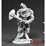 Reaper Miniatures Lizardman Tyrant #02404 Dark Heaven Legends Unpainted Metal