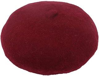 FERZA Home Cappello Berretto Cappello da imbianchino Cappello da imbianchino Vintage Classico Moda Francese Artista ciniglia di Lana per l'autunno e Inverno Accessorio Shopping Cap12