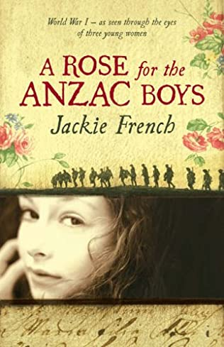 book cover of A Rose for the Anzac Boys