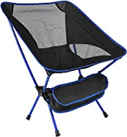 Ultralight Portable Camping Chair, Compact Folding Backpacking Chair, Collapsible Beach Chair Patio Dining Cha