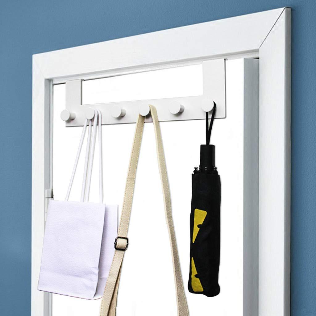 ViShow Iron Art Back Door Hanger Hook for Bathroom Kitchen Hanger Towel Clothes Door Rack,Easy Install Space Saving Bathroom Hooks by ViShow (Image #9)
