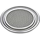 Prime Enterprises Multi-Size Aluminum Pizza Tray Screen Mesh Baking Pan Pizza Stone Tray Pancake Net Pastry Bakeware Baking Tools