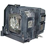 AuraBeam Economy Epson BrightLink 475Wi Projector Replacement Lamp with Housing