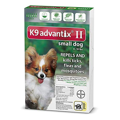 K9 Advantix II for Dogs 10 lbs and Under - 6 count by Bayer (Image #1)