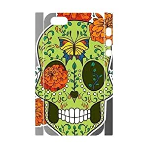 skull 3D-Printed ZLB816397 Brand New 3D Cover Case for Iphone 5,5S