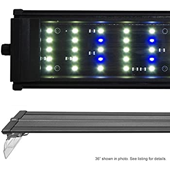 "Beamswork DA 6500K 0.50W Series LED Pent Aquarium Light Freshwater Plant Discus (180cm - 72"")"