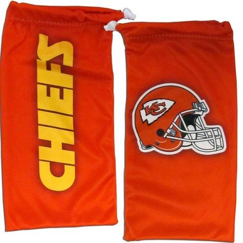 NFL Kansas City Chiefs Microfiber Glasses Bag ()