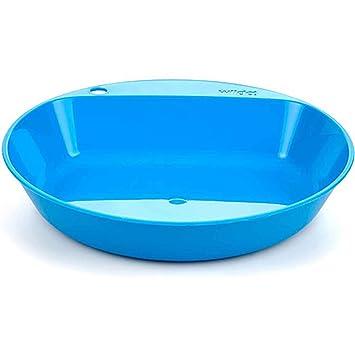 Wildo Lightweight Deep C& Plate Reusable BPA Free Dinnerware Meals Picnics Dish (Light Blue)  sc 1 st  Amazon.com & Amazon.com : Wildo Lightweight Deep Camp Plate Reusable BPA Free ...