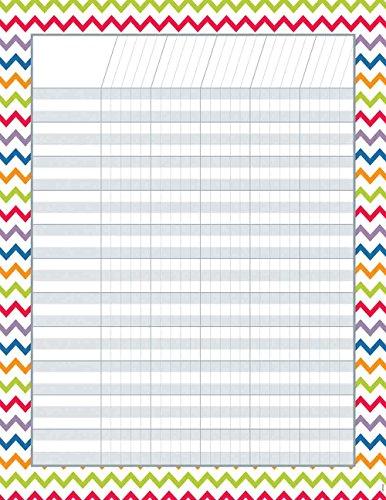 Creative Teaching Press Incentive Chart, Chevron (5248)