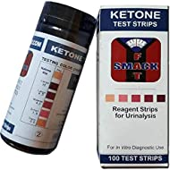 Smackfat Ketone Strips - High Quality Ketone Strips for a Keto Diet - 100 Strips