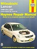 Mitsubishi Lancer Automotive Repair Manual (Haynes Automotive Repair Manuals)