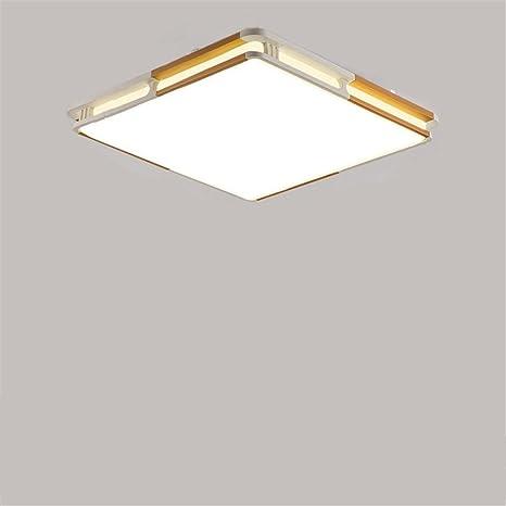 Lámpara de techo led, rectangular, vestíbulo salón de luces ...