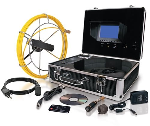 Duromax Video Snake SWJ-3188D Pipe and Wall Inspection Co...