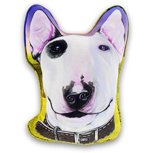 Sansukjai Sketch Bull terrier Printed Pillow 65 cm Dog Lover/Collection/Gift/Home Decor (Gift Basket Ideas After Hip Surgery)