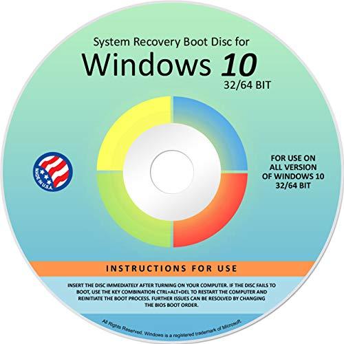 Ralix Reinstall DVD For Windows 10 All Versions 32/64 bit. Recover, Restore,...