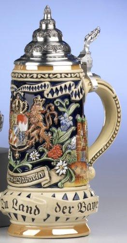 Bavarian Beer Stein Munich 0.5 liter KW393