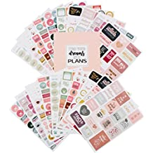 Life Planner Stickers Set. Monthly, Weekly & Daily Planner Stickers 20 Sheets Set of 1,000+ stickers for women