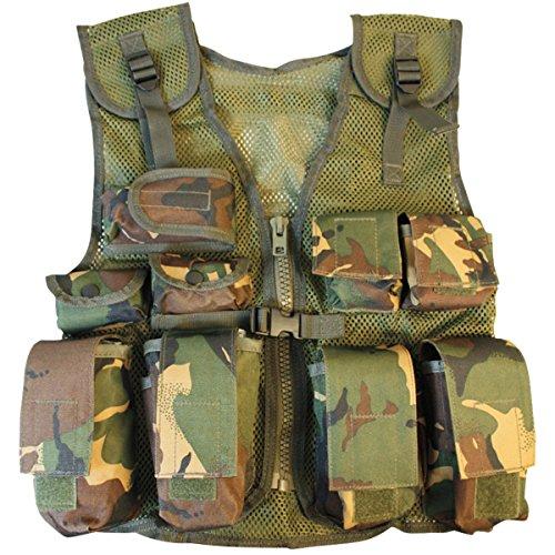 Kombat UK DPM Assault Gilet + Casque pour Enfant Motif Camouflage Taille Unique 2