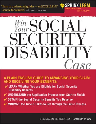 Win Your Social Security Disability Case  Advance Your Ssd Claim And Receive The Benefits You Deserve  Sphinx Legal