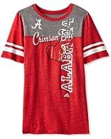 NCAA Alabama Crimson Tide Women's Triblend Sporty Tee Crossline