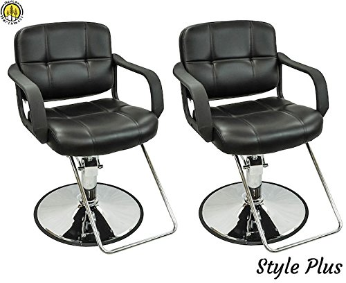 2 PC Styling Chairs For Sale Salon Equipment Hair Stylist Spa Chairs by DevLon NorthWest