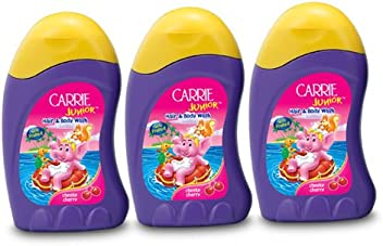 Carrie Junior Hair and Body Wash, Cheeky Cherry, 100ml (Buy 2 Get 1 Free)