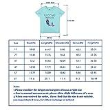 AMZTM Birthday Mermaid T Shirt - Kids Girls Short