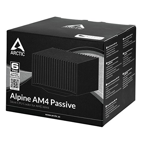 ARCTIC Alpine AM4 Passive - Silent CPU Cooler for AMD AM4 by ARCTIC (Image #5)