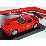 Mercedes-Benz SLS AMG GT3GT 3Rojo 1/24Motor Max Modelo Modelo de coche Auto