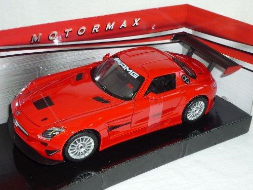 Motormax MERCEDES-BENZ SLS AMG GT3GT 3Rosso 1/24 modello auto auto Modellcarsonline MM73356RD