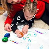 Crayons for Toddlers Palm Grip 6 Colors Baby