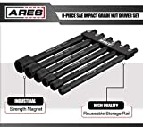 ARES 70650-6-Piece SAE Magnetic Impact Nut Driver