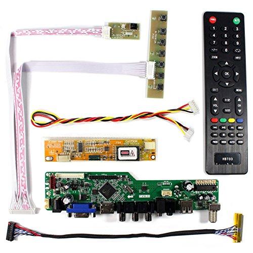 VSDISPLAY HDMI+VGA+CVBS+USB+RF+Audio LCD Motor Driver Board Controller Kit Work For 15.6'' LP156WH1 N156B3 1366x768 1CCFL 30Pin LCD Panel by VSDISPLAY (Image #1)