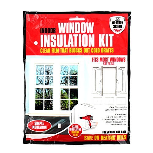 Home Window Insulation Kit Heating Glass Draught Excluder Double Glazing Film Shopmonk Zizzi