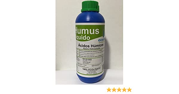 Ecocelta Humus liquido 1 l, Negro