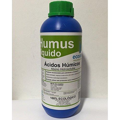 Ecocelta Humus liquido 1 l, Negro: Amazon.es: Jardín