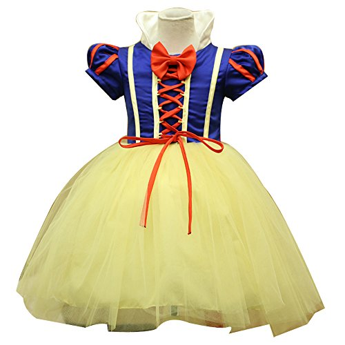 [Marshel Japanese Cosplay Princess Dress Kids Costume AX-KD-034-90] (Rikku Cosplay Costume For Sale)