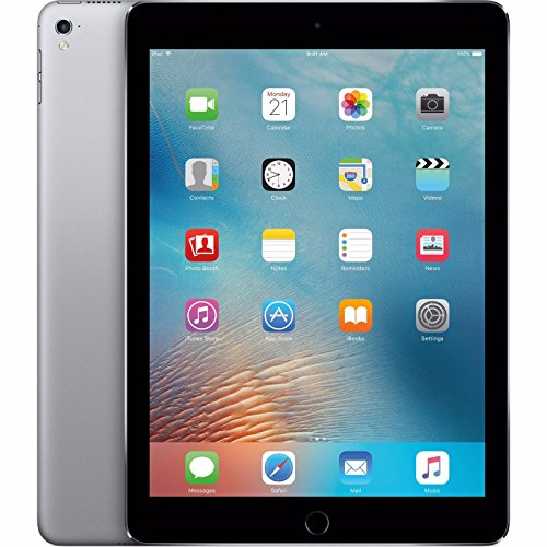 Apple iPad Pro Tablet (32GB, Wi-Fi, 9.7) Space Gray (Certified Refurbished)