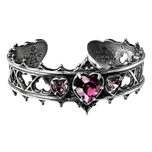 Alchemy Gothic Women's Elizabethan Bangle - One Size, Silver