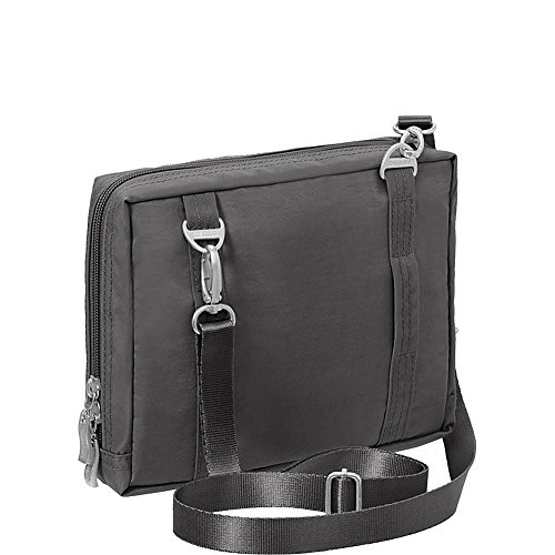 Charcoal with Bag on �C Back Multi on Wander Loops Crossbody Pocketed Travel Baggallini Belt Lightweight to Wear Bag qxTRn8z