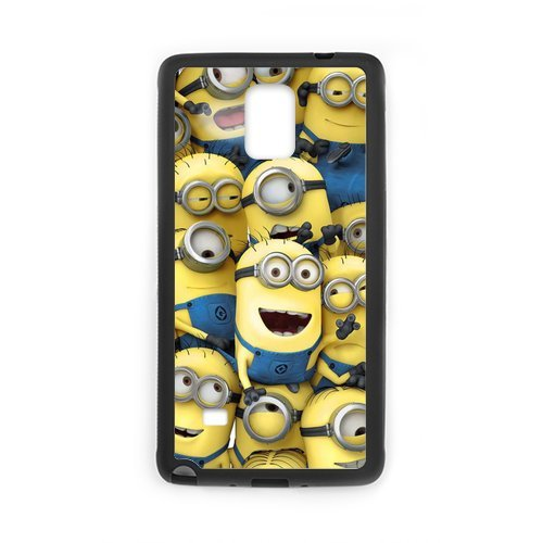 Zyhome Galaxy Note4 Despicable Me Multi Grey With Yellow Minion Case Cover for SamSung Galaxy Note4 (Laser Technology)