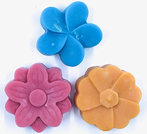 Detergent Free Scented Goat Milk Bath Soap 3 Pack Hydrangea, Forget Me Not, Water Lily & ()