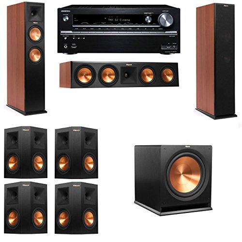 Klipsch RP-250F Tower Speakers CH-7.1-Onkyo TX-NR838