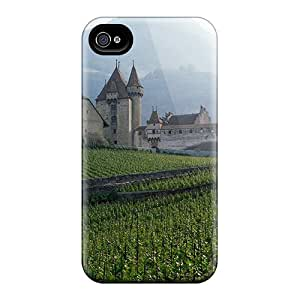 New ZJC6534unQV Swiss Countryside Skin Case Cover Shatterproof Case For Iphone 4/4s