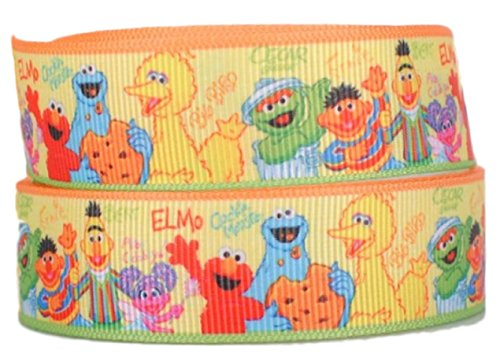 Sesame Street Characters w/names 1
