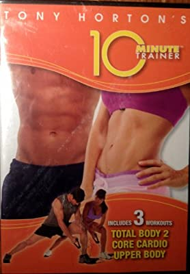 Tony Horton's 10 Minute Trainer Includes 3 Workouts Total Body 2, Core Cardio, Upperbody
